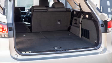 Lexus RX L SUV boot with four seats