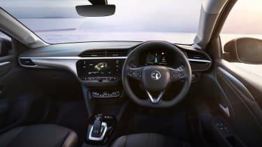 2020 Vauxhall Corsa-e - dashboard view