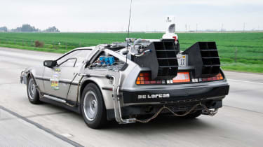 Perhaps the most famous film car of the 1980s was Back to the Future's DeLorean.