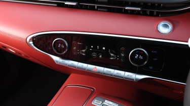 Genesis GV70 SUV dashboard