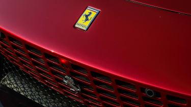 Ferrari Roma coupe bonnet