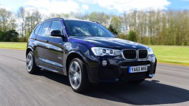 A broad engine range includes xDrive20d, xDrive30d and xDrive35d diesels with four-wheel-drive