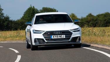 Audi S7 hatchback front driving