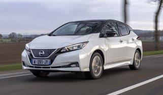 2021 Nissan Leaf10 - 10th Anniversary special edition - front dynamic