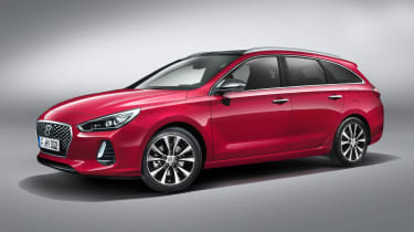 The 2017 Hyundai i30 Wagon replaces the i30 Tourer estate