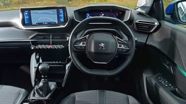 Peugeot 208 hatchback interior