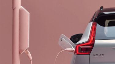 Electric Volvo XC40