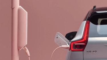 Electric Volvo XC40