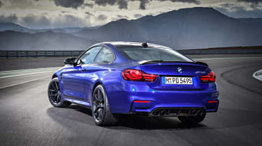 But the M4 CS is around £35,000 more than an M4 with the Competition Package