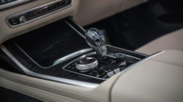 BMW X7 SUV gear selector