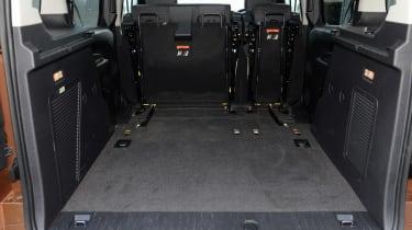 Ford Tourneo Connect MPV boot - seats down