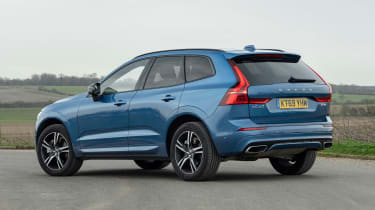Volvo XC60 SUV rear 3/4 static