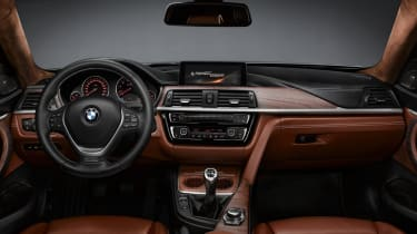 BMW 4 Series Coupe 2013 interior