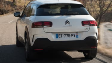 The C4 Cactus is fitted with 3D LED rear lights that are designed to make the car look wider