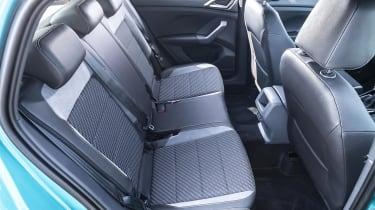 VW T-Cross rear seats