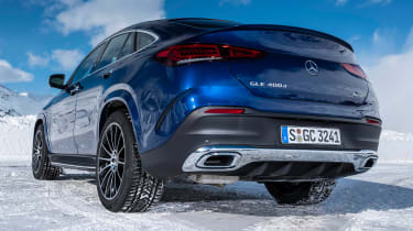 Mercedes GLE Coupe SUV rear static