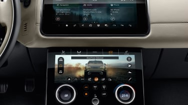 The twin-screen Touch Pro Duo infotainment system is standard across the range