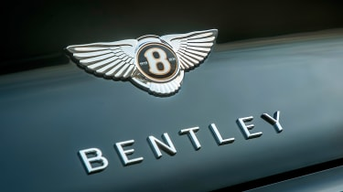 Bentley Continental GT Convertible badge