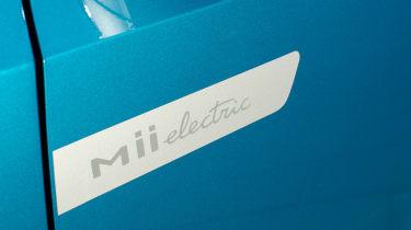 2019 SEAT Mii Electric - Mii electric badge