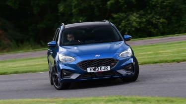 Ford Focus ST Estate front cornering