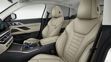 2021 BMW i4 eDrive40 - seats