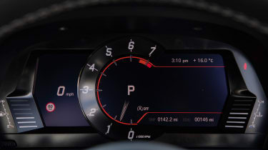 Toyota Supra coupe instruments