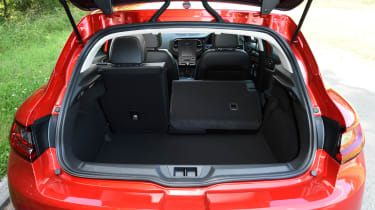 Boot space is bigger than many rivals' and there are lots of useful storage cubbies