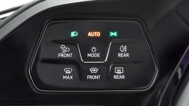 Volkswagen Caddy light controls