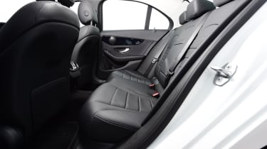 Mercedes C-Class saloon rear seats