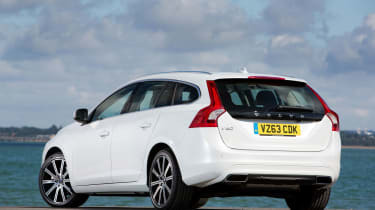 The V60 looks good but Volvo's image is not quite as strong as its German rivals