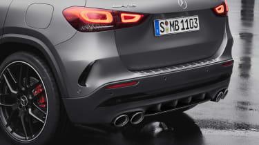 Mercedes-AMG GLA 45 S SUV rear bumper