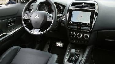 Mitsubishi ASX SUV interior