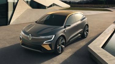 Renault Megane eVision concept front