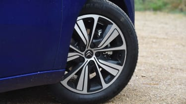 The range-topping diesel Flair model gets 18-inch alloy wheels to help it stand out