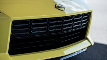 Nissan Z Proto - front grille close up