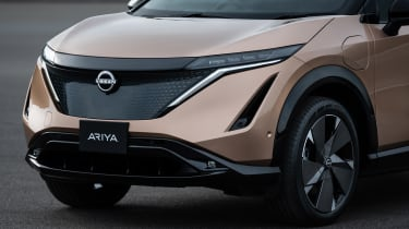 Nissan Ariya front end detail