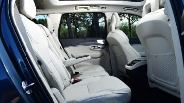 Volvo XC90 - rear seats