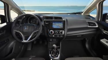 Old Honda Jazz interior