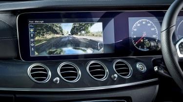 Mercedes E-Class estate screen