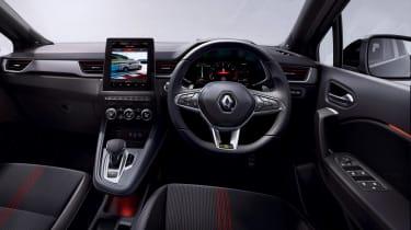 2021 Renault Captur E-Tech Hybrid SUV - interior