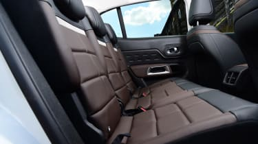 Citroen C5 Aircross SUV rear seats