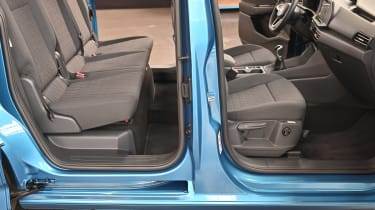 Volkswagen Caddy seats
