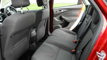 Ford Focus - rear seats