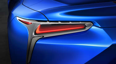 Lexus LC500 Convertible tail-light