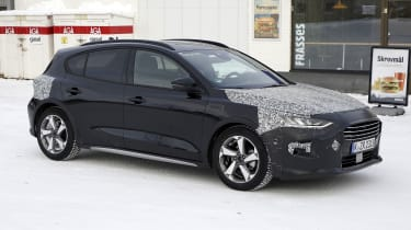 2021 Ford Focus development model