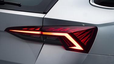 2020 Skoda Octavia tail-light