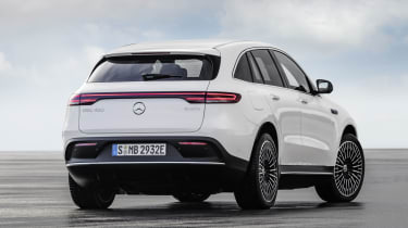 Mercedes EQC rear