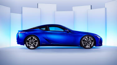 Here, four-wheel steering and a carbon fibre roof are among the features bundled together
