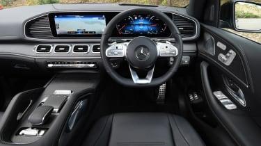 Mercedes GLE SUV dashboard