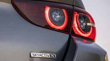 Mazda3 Fastback tail-light